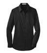 L646 - Ladies' Stretch Poplin Shirt